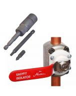 EasyFit - Isolation Valve and Tools Pack Starter Kit