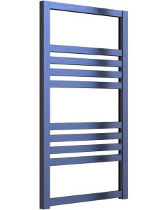 Bolca - Blue Electric Towel Rail H870mm x W485mm 300w Thermostatic