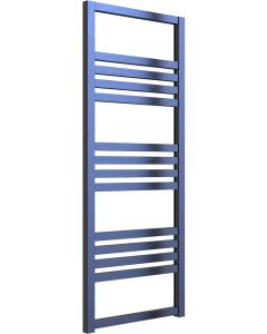Bolca - Blue Dual Fuel Towel Rail H1200mm x W485mm 300w Thermostatic
