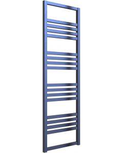 Bolca - Blue Electric Towel Rail H1530mm x W485mm 600w Thermostatic