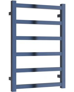 Fano - Blue Electric Towel Rail H720mm x W485mm 150w Standard