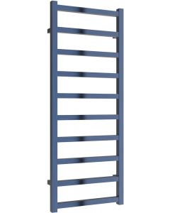 Fano - Blue Electric Towel Rail H1240mm x W485mm 400w Standard