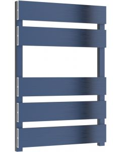 Fermo - Blue Electric Towel Rail H710mm x W480mm 150w Standard