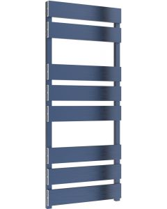 Fermo - Blue Electric Towel Rail H1190mm x W480mm 400w Standard
