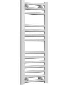 Diva - White Dual Fuel Towel Rail H800mm x W300mm 150w Standard - Straight