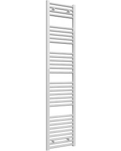 Diva - White Heated Towel Rail - H1800mm x W400mm - Straight
