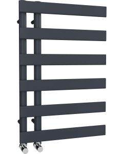 Agar - Anthracite Towel Radiator - H748mm x W500mm