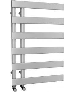 Agar - Silver Towel Radiator - H748mm x W500mm