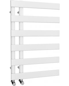 Agar - White Towel Radiator - H748mm x W500mm