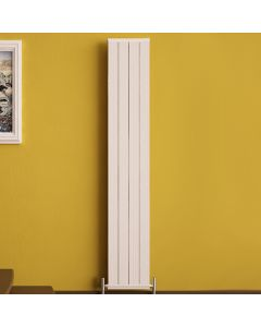 Elite - White Vertical Radiator H1800mm x W295mm