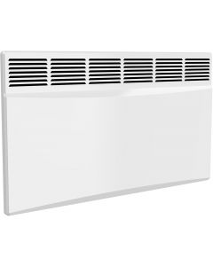 Optima - White Horizontal Electric Radiator H450mm x W785mm 2000w Thermostatic