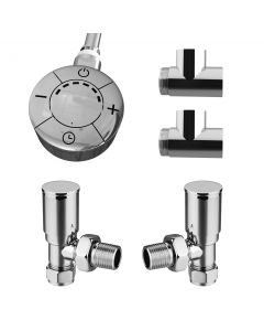 Talus - Dual Fuel Towel Rail Kit 600w Thermostatic