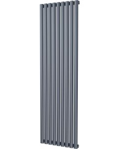 Omeara - Anthracite Vertical Radiator H1800mm x W522mm Single Panel