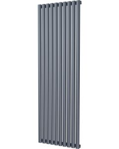 Omeara - Anthracite Vertical Radiator H1800mm x W580mm Single Panel