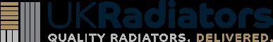 Omeara - Black Horizontal Radiator H600mm x W1508mm Single Panel