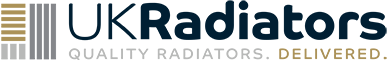 Omeara - Black Horizontal Radiator H464mm x W1800mm Double Panel