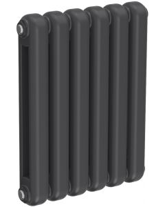 Coneva - Anthracite Column Radiator H550mm x W440mm 6 Columns