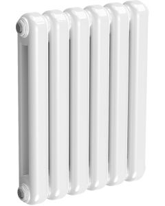 Coneva - White Column Radiator H550mm x W440mm 6 Columns