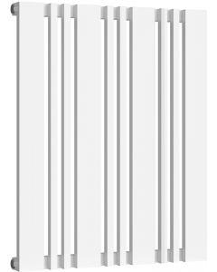 Bonera - White Horizontal Radiator H550mm x W456mm Single Panel
