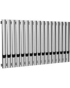 Neva - Chrome Horizontal Radiator H550mm x W1003mm Single Panel