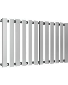 Pienza - Chrome Horizontal Radiator H550mm x W995mm Single Panel
