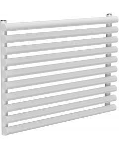 Roda - White Horizontal Radiator H590mm x W800mm Single Panel