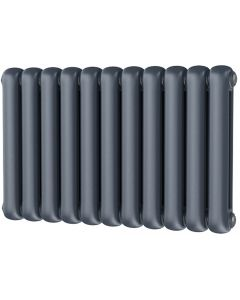 Sherwood - Anthracite Round Top Column Radiator H500mm x W785mm 2 Column