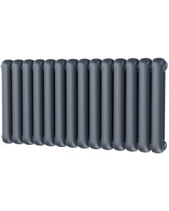Sherwood - Anthracite Round Top Column Radiator H600mm x W993mm 2 Column