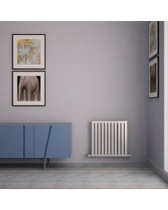Sarp - Stainless Steel Horizontal Radiator H600mm x W590mm