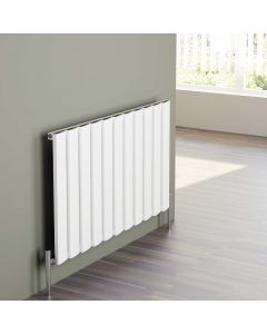 Step - White Horizontal Radiator H600mm x W470mm