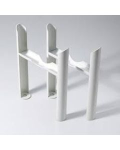 Klassic - Column Radiator Feet - 2 Column White