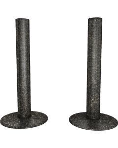 Talus - Pewter Matte Pipe Covers 130mm