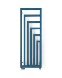 Angus  - Azure Blue Vertical Radiators H1460mm x W520mm Single Panel