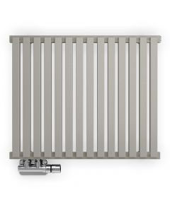 Nemo - Stone Horizontal Designer Radiators H530mm x W645mm Single Panel