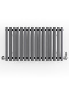 Rolo-Room - Anthracite Horizontal Designer Radiators H500mm x W865mm Single Panel