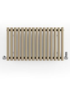 Rolo-Room - Quartz Mocha Horizontal Designer Radiators H500mm x W865mm Single Panel