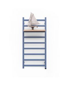 Simple One - Maritime Blue Electric Towel Rail H1080mm x W500mm 400w Thermostatic