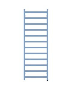Simple One - Maritime Blue Electric Towel Rail H1440mm x W500mm 600w Thermostatic