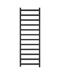 Simple One - Black Electric Towel Rail H1440mm x W500mm 600w Thermostatic